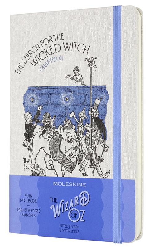 Moleskine The Wizard of Oz Limited Edition Large Plain Notebook - Wicked Witch