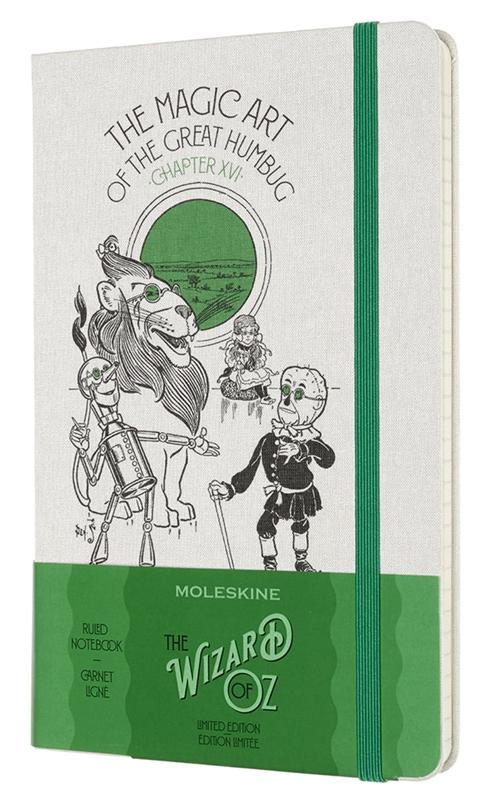 Moleskine The Wizard of Oz Limited Edition Large Ruled Notebook - Humbug