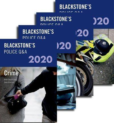 Blackstone's Police Q&As 2020: Four Volume Pack