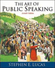 The Art of Public Speaking With Free Student CD-ROM