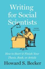 Writing for Social Scientists