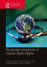 Routledge Handbook of Global Health Rights