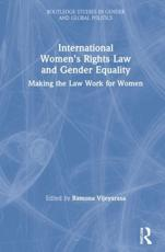 International Women's Rights Law and Gender Equality