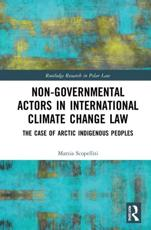 Non-Governmental Actors in International Climate Change Law