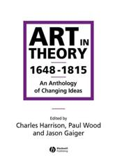 Art in Theory, 1648-1815
