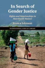 In Search of Gender Justice