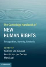 The Cambridge Handbook of New Human Rights