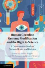Human Germline Genome Modification and the Right to Science