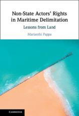 Non-State Actors' Rights in Maritime Delimitation