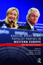 Radical Right in Western-Europe