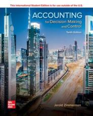 ISE Accounting for Decision Making and Control