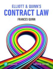 Elliott and Quinn's Contract Law