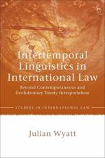 Intertemporal Linguistics in International Law