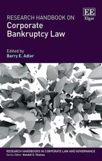 Research Handbook on Corporate Bankruptcy Law
