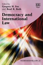 Democracy and International Law