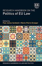 Research Handbook on the Politics of EU Law