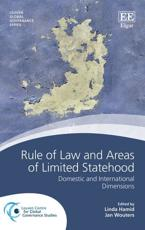 Rule of Law and Areas of Limited Statehood