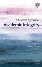 A Research Agenda for Academic Integrity