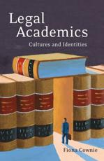 Legal Academics: Cultures and Identities