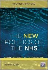 The New Politics of the NHS